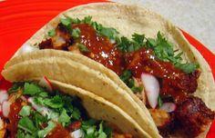 Tacos Al Pastor.
