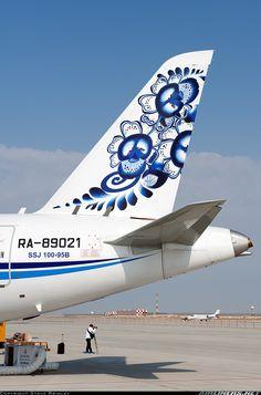 Moskovia Airlines Sukhoi SSJ-100-95B Superjet 100 (RRJ-95B) @ DWC