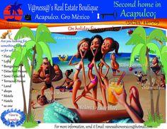 Acapulco para el mundo, las mejores propiedades..... vanessabienesraices@hotmail.com