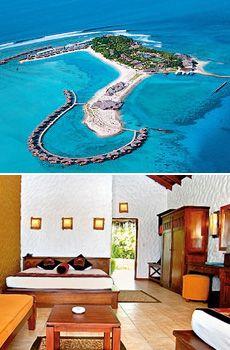 ab 1957 € -- 13 Tage Malediven im Beachresort, 600 € sparen