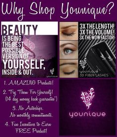 Just one of the reasons I am a Younique girl!!   https://www.youniqueproducts.com/LaurenHosford