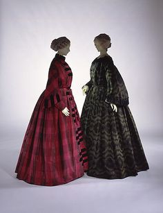 Mid 1850s ... Dressing gown ... American ... at The Metropolitan Museum of Art ... photo 1