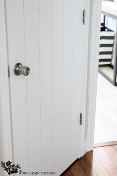 DIY Plank Door by The Wood Grain Cottage
