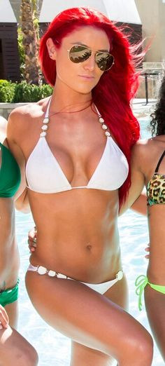 Eva Marie from total divas. I absolutely love her! her body and her hair! My goal!