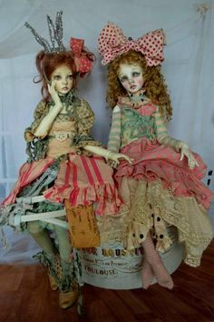 Artist doll by Val Zeitler