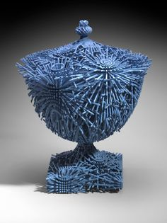 Ceramics, Michael Eden, Artist, Bloom, 2010, made by additive layer manufacturing