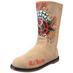 Ed Hardy Women's Bootstrap Boot,Tan-10fbs102w,5 M US Ed Hardy,http://www.amazon.com/dp/B0039RGB3Q/ref=cm_sw_r_pi_dp_0hfrsb0H6B09YWZ1