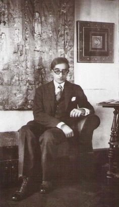 Constantino Cavafis -   Egyptian Greek poet, journalist and civil servant.