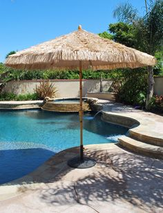 Also, love this pool! Pool Umbrellas, Patio Furniture Cushions, Lets Run Away, Running Away, Gold Coast, Bamboo, Spa, Google, Outdoor Decor