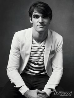 RJ Mitte! He is amazing in so many ways. I LOVE that his disability has not stopped him from going out & getting what he wants out of life! Plus, I have a super strange crush on this fella.