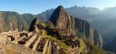 Inca Trail, Peru  Classically spanning from Cusco to Machu Picchu, the Inca trail takes an average of 4-5 days to complete, as trekkers pass through villages and ruins starting at 9,200 ft and extending beyond 13,800 feet above sea level.