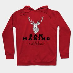 SAN MARINO T-SHIRT 2020 - San Marinoeuropecountrymapsan - Hoodie   TeePublic