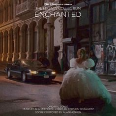 Custom artwork for 'Enchanted' in the style of Disney's The Legacy Collection. I used stills from the film for this one.
