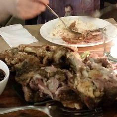 Crispy pata fest! Crispy Pata, Beef, Food, Meat, Essen, Meals, Yemek, Eten, Steak