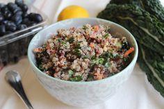 Quinoa & Kale Salad on Glori of Food #vegan #meatlessmonday #glutenfree #vegetarian