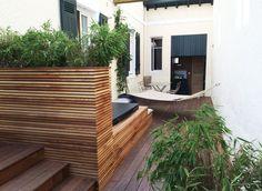 courtyard Outdoor Furniture, Outdoor Decor, Sun Lounger, Patio, Design, Home Decor, Garden Landscaping, Yard, Atelier