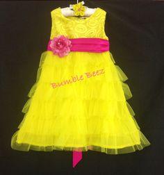 Yellow n pink