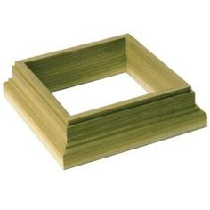 Deckorators x Wood Deck Post Base Trim at Lowe's. This pine deck post base trim adds a finishing touch to the bottom of your wooden posts. It will hide any gaps between posts and the decking so you will Stair Railing Kits, Deck Railings, Deck Posts, Porch Posts, Lowes Home Improvements, Home Depot, Diy Cat Scratching Post, Fence Post Caps, Base Trim