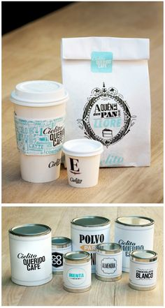 coffee cup packaging cafe bakery