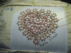 Bobbin Lace Heart-beautiful