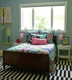 the redesign company fun and funky girly girl bedroom