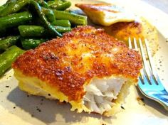 Tired of boring fish for dinner? My recipe for Crunchy Panko Crusted Cod using P. Tired of boring fish for dinner? My recipe for Crunchy Panko Crusted Cod using Panko bread crumbs will take your fish to a whole new delicious crunchy. Cod Fish Recipes, Seafood Recipes, Cooking Recipes, Healthy Recipes, Best Cod Recipes, Recipe For Cod Fish, Healthy Meals, Cod Fillet Recipes, Grilled Cod Recipes