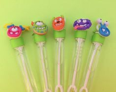 Monster Favor, Monster Bubble Favor, Monster Party Favor, Monster Party Supplies