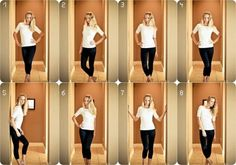 Flattering poses for women.  Learn how to work your angles.