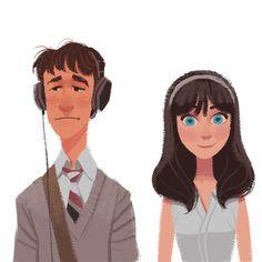 Este ilustrador está convirtiendo a los personajes icónicos de películas en caricatura - Vix
