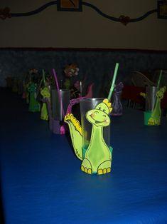 Majo diseño en souvenirs: cumpleaño jurasico LOS DINOSAURIOS