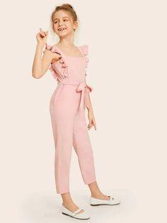 Kids Dress Wear, Kids Outfits Girls, Cute Girl Outfits, Little Girl Dresses, Cute Casual Outfits, Girls Dresses, Girls Fashion Clothes, Kids Fashion, Fashion Outfits