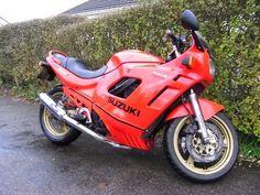 Motorcycle Restoration Projects UK: Suzuki GSX600F 1989