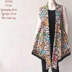 Cardigan Outer Batik Vest Wanita Kosongdua