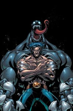 Wolverine and Venom