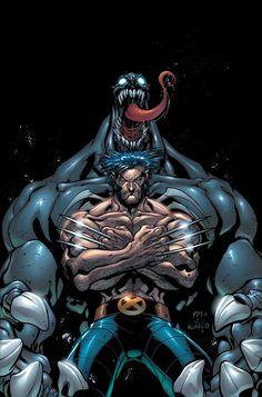 Wolverine and Venom