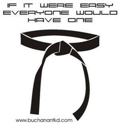 I have one... My instructor actually told me this many times. If it were easy everyone would do it.