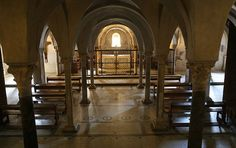 Firenze Basilica di San Miniato al Monte - cripta   #TuscanyAgriturismoGiratola