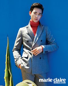 Kim Soo Hyun - Marie Claire Magazine June Issue '14