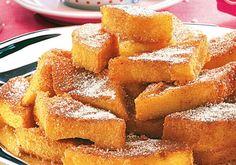 Apesar de ser mais conhecida em sua versão salgada, a polenta pode ser servida com açúcar e canela em uma receita de quatro ingred