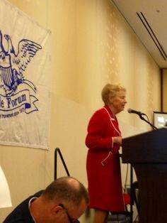 Phyllis Schlafly at Friday night Eagle Forum Dinner. 9-13-13