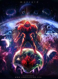 Metroid by Corey Loving
