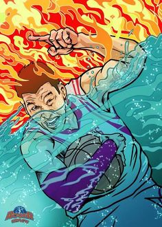Jeremy Lin 'Go Through Fire and Water' Art