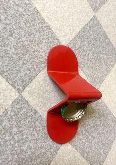 Abridor de Garrafa (Vermelho)