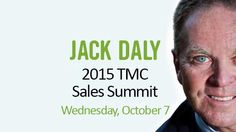 Making plans to attend the 2015 Sales Summit with Jack Daly? Get your early bird tickets now. http://tmc2015salessummit.ticketleap.com/tmc-2015-sales-summit/…