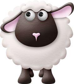 "Photo from album ""oinka doodle moo"" on Yandex. Baby Sheep, Cute Sheep, Sheep And Lamb, Cute Animal Clipart, Cute Clipart, Sheep Logo, Sheep Drawing, Sheep Cartoon, Sheep Cards"