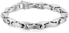 Men's Stainless Steel Mariner Link Bracelet, Bracelets For Men, Link Bracelets, Marines, Jewelry Design, Jewelry Making, Stainless Steel, Mens Fashion, Silver, Amazon