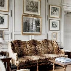 Interior design pictures via myLusciousLife blog - Animal prints.jpg