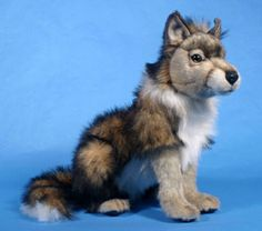 The plush wolf the hero buys for the heroine when they go to the zoo. Paranormal Romance Books, Werewolf, Cubs, Husky, Plush, Fox, Hero, Dolls, Fingers