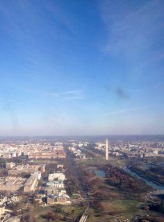 Flying into Washington DC National Airport