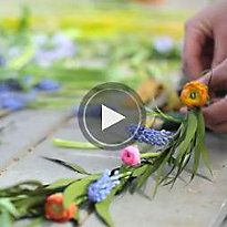 How-To: Spring Floral Garland in The BULLETIN at Terrain